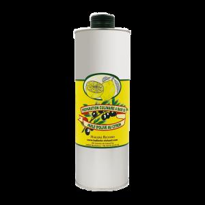 huile d'olive citron