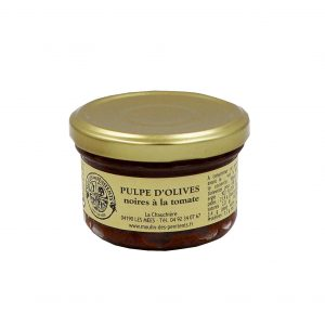 pulpe d'olives noires